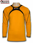 Lotto junior youth orange soccer football goalkeeper goalie shirt