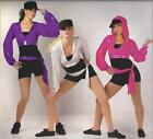 SO WHAT Hip Hop Jazz Tap Dance Costume Silver Adult XL - Clearance 3 available
