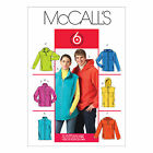 McCall's 5252 Sewing Pattern to MAKE Miss/Men's Stand-Up Collar or Hooded Vest