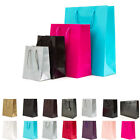 50 Luxury Paper Gift Bags Paper Carrier Bag Party Bag 12.5x19x8.5cm