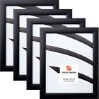 "Craig Frames Black Picture Frames & Poster Frames, 1"" Wide, Contemporary Style"