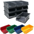 NEW Quality British Made Plastic Parts Storage Bins 10 x Size 4 - Colour Choice