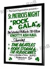 The Beatles Rory Storm Concert Poster, St Patricks Day Liverpool 1962