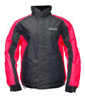 Women's Sledmate XT Snowmobile Jacket Black / Fuchsia Ladies Winter Coat 5200XTF
