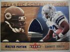 2002 FLEER CLASSIC COMBINATIONS WLATER PAYTON  JERSEY,BEARS !! BOX # 38
