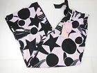 Peter Alexander Womens Big Black Star Wide PJ Pants BNWT- Choose Size