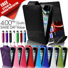 LEATHER FLIP CASE COVER & SCREEN PROTECTOR FOR APPLE IPOD TOUCH 4TH GEN 4G