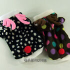 Dog&Cat Clothes Coats Fleece Reindeer Hoodie Jackets_D309
