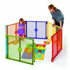 North States Color Superyard Baby Pet Gate Portable Play Yard - 6 Panel | 8769