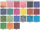 Czech 11/0 Color-Lined Seed Beads 12-strand Hank 2