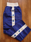 FORCE BLUE & WHITE MARTIAL ARTS KICKBOXING TROUSERS  BRAND NEW