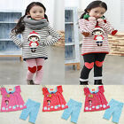 Toddler Girls Kids Clothes 2 PCS Set Top & Leggings Outfit 3-8Y Casual Clothing