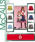 McCall's 5169 OOP Sewing Pattern to MAKE Girls' Skirts Flouncy Hem Ages 7-14