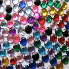 2000pcs NAIL ART GEMS TIPS GLITTER RHINESTONES ROUND DIAMANTE 1.5 , 2 , 3 mm MK