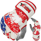 MRX MMA Gloves Boxing Grappling Fight Glove UFC Cage Muay Thai Kick USA Flag