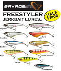 Savage Predator Lures : *FREESTYLER JERKBAIT LURES* - for Pike & Sea Fishing