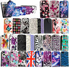 FOR APPLE IPHONE 4 4S PRINTED DESIGN PU LEATHER MAGNETIC FLIP SKIN CASE COVER
