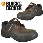MENS BLACK & DECKER SAFETY BOOTS TRAINERS SHOES WORK STEEL TOE CAP ANKLE 6-12UK