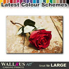 Roses Flowers Love FLORAL  Canvas Print Framed Photo Picture Wall Artwork WA