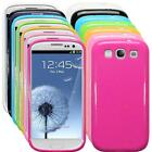 Glossy Finish TPU Silicone Gel Skin Case Cover For Samsung Galaxy S3 i9300