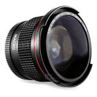 Altura Photo® 58MM 0.35x Fisheye Wide Angle Lens with Macro for Canon T6i T5 T3i