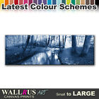 Forest Stream LANDSCAPES Canvas Print Framed Photo Picture Wall Artwork WA