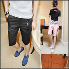 UK Style Mens Candy Color Slim Casual Shorts Hot Leisure Shorts Pants 7 colors