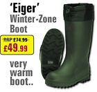 'Eiger' Winter Zone Boots - with Removable Thinsulate Linings - Great Snow Boot!