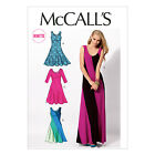 McCall's 6697 Sewing Pattern to MAKE Stretch Knit Pullover Bias Dresses