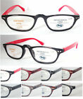 (R333H)Plastic Frame Reading glasses/flexi Hinge Arms including glasses cases