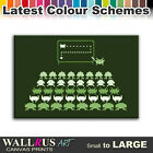 Space Invaders Humerous Funny Canvas Print Framed Photo Picture Wall Artwork WA