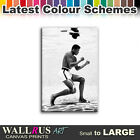 Muhammad Ali Boxing Icon Canvas Print Framed Photo Picture Wall Artwork WA