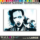 Marilyn Manson Goth Music Icon Canvas Print Framed Photo Picture Wall Artwork WA