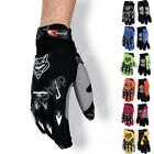 Racing Motorcycle Motorbike Motocross Cycling Dirt Bike Full Finger Gloves A02