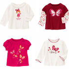 Gymboree Butterfly Girl Top .3 6 9 12 18 24 2T 3T 4T 5T NWT