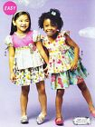 McCall's 6688 Easy Sewing Pattern for Girls' Fancy Tops and Skirts
