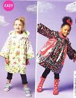 McCall's 6692 OOP Easy Sewing Pattern for Girls' Unlined Coats w/Hood or Collar