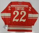 JORDIN TOOTOO  2014 WINTER CLASSIC DETROIT RED WINGS RBK PREMIER JERSEY