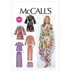 McCall's 6659 Sewing Pattern to MAKE  Easy Robe/Gown  Pyjamas & Shorts Sleepwear