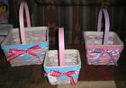SET 1  CELEBRATE IT EASTER BASKETS SPRING EASTER TREATS EGGS CHICKS APPLIQUES