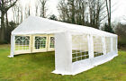 Luxury Marquee Party Tent Heavy Duty Gazebo White Large Garden Wedding Canopy