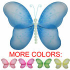 Butterfly Birthday Party Decor Hanging Sheer Bedroom Baby Shower Butterflies