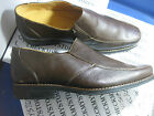 """NIB NEW SANDRO LIMITED """"HILL"""" SLIP ON LEATHER CASUAL/DRESS COMFORT SHOES BROWN"""