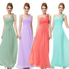 New Womens Long Maxi Chiffon Formal Evening Party Cocktail Dress Prom Gown 09768