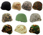 Airsoft Tactical M88 PASGT Kelver Swat Helmet Cover 10 Colors BK/Flecktarn/ACU