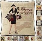 "Tapestry Vintage Cushion Covers 18""x18"" ~ Various Designs"