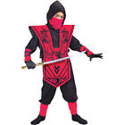 Complete Ninja Child Costume - In Red or Blue!