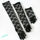 Women Lace Sun Block UV Protection Long Opera Evening Bridal Driving Gloves