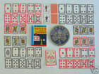 DOLLS HOUSE MINIATURE 54 PLAYING CARDS - HOYLES RULE BOOK - SCORE PAD - Handmade