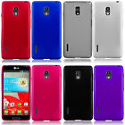 LG Optimus F7 US780 Frosted TPU CANDY Flexi Gel Skin Case Phone Cover